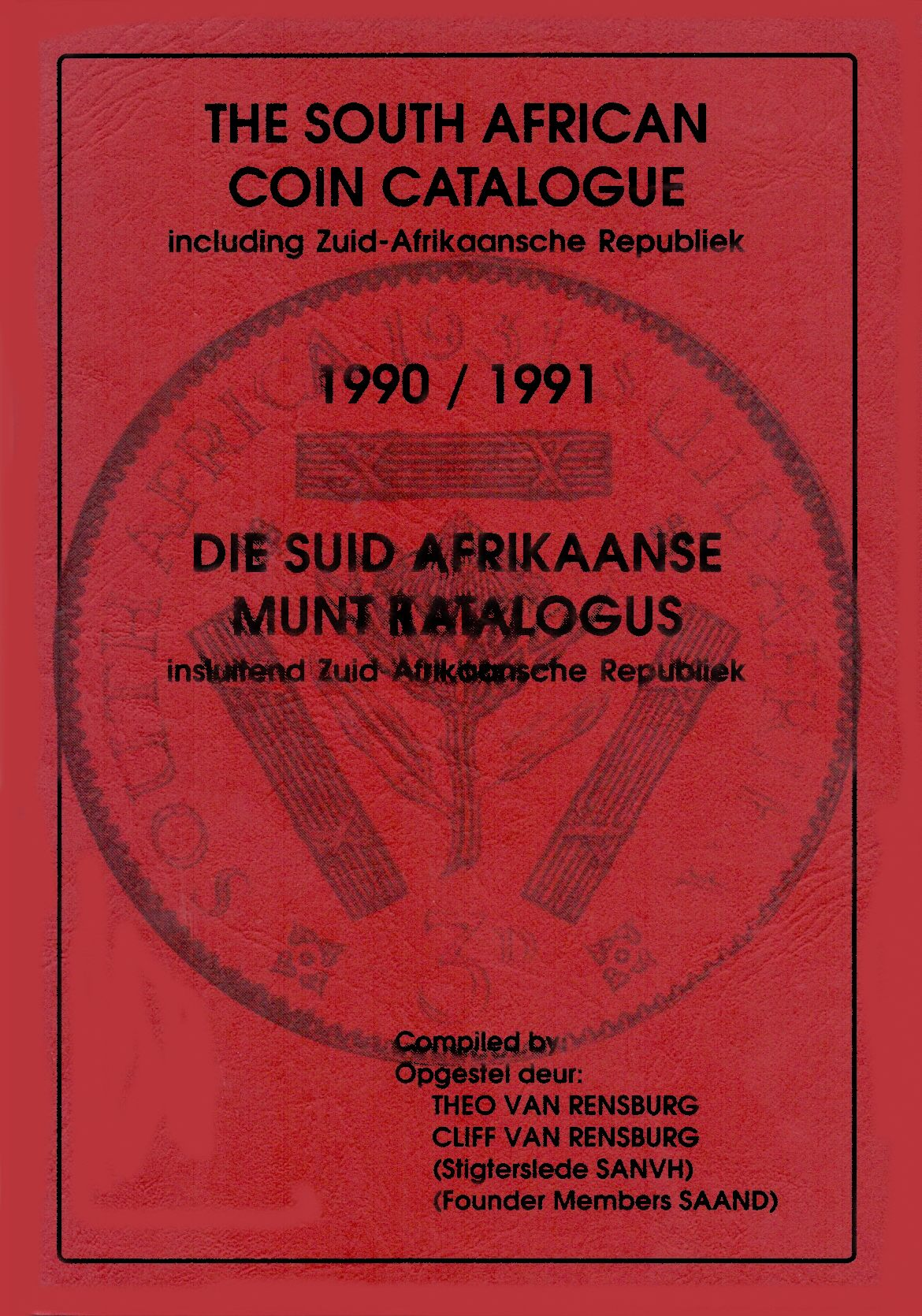 Randburg Coin Catalogue 1990 to 1991