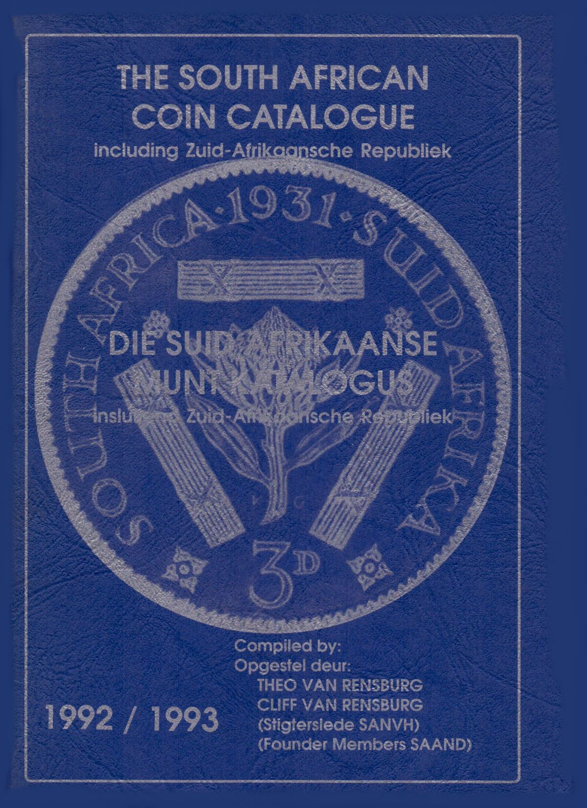 Randburg Coin Catalogue 1992 to 1993